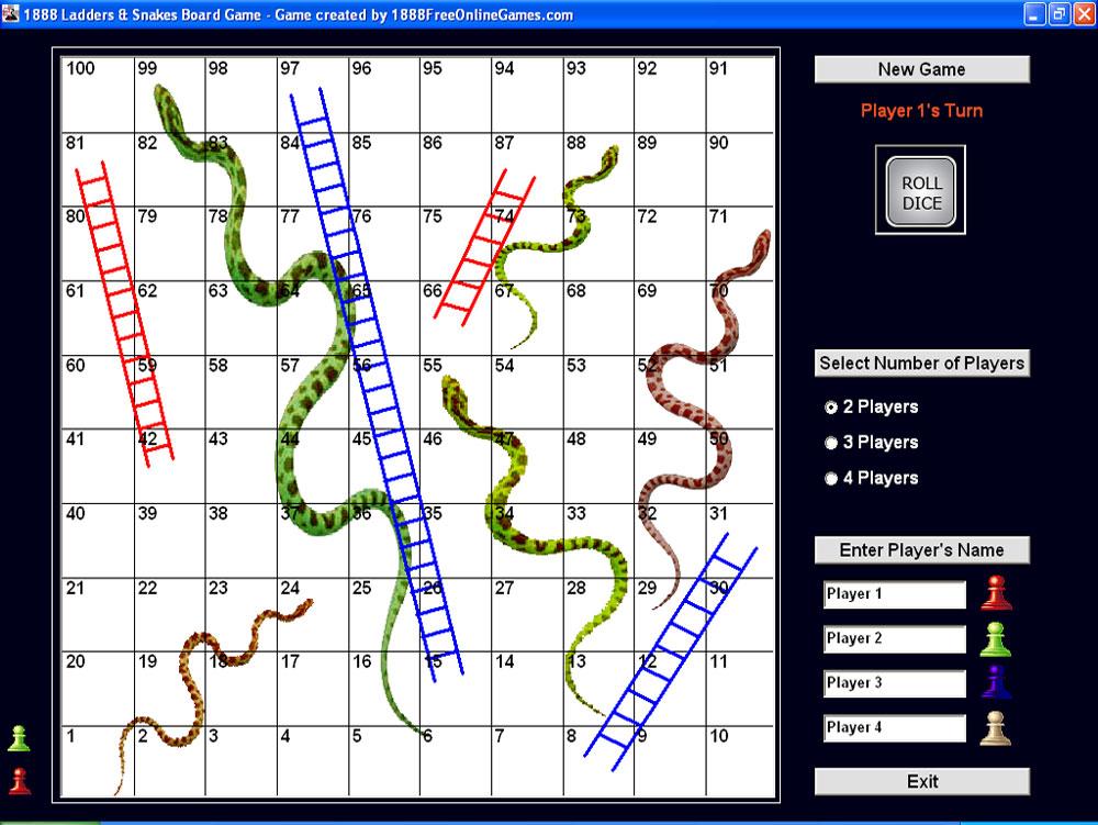 Странному Ladders And Snakes Игра овладеет головокружение, свалишься