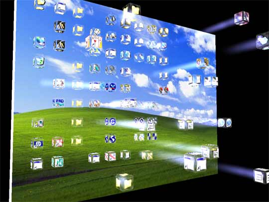 Free 3d Screensavers D Crash Icons Screensaver