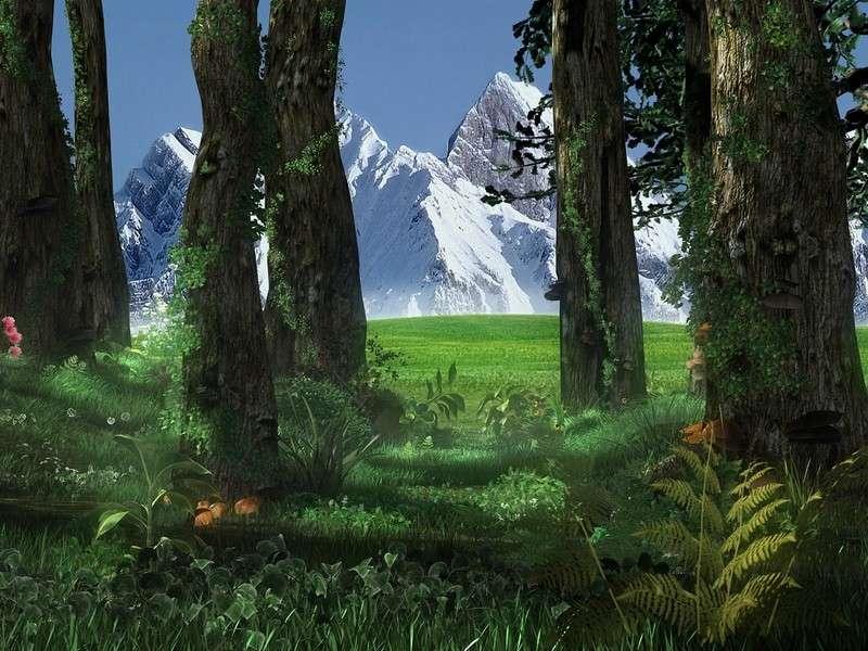 3d forest screensaver 1 0 screenshot 3d graphics makes it all look so ...