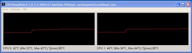 CPUTempWatch 1.0.13 main scrennshot