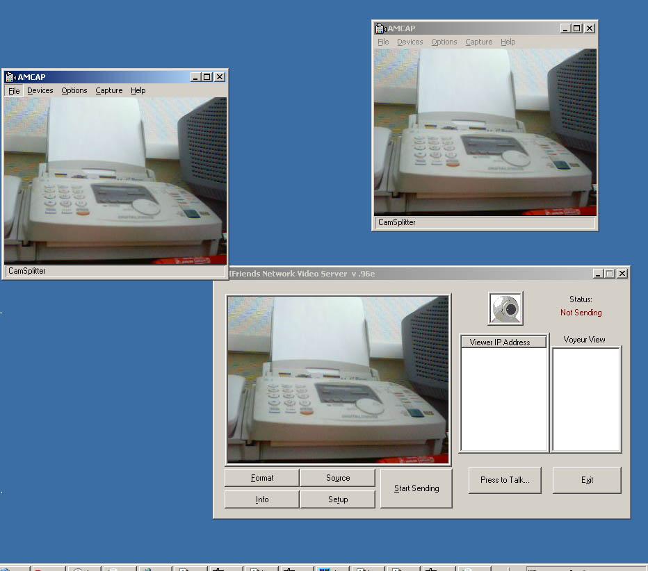 CamSplitter 2.0 main scrennshot