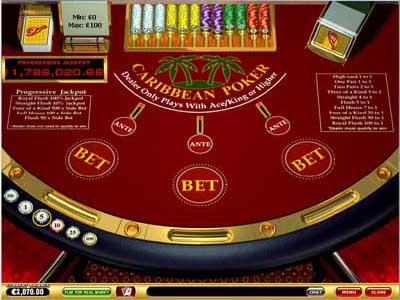 Caribbean stud poker in las vegas casinos