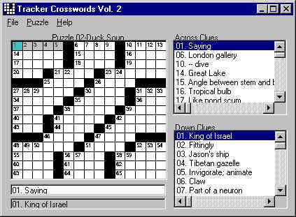 Crossword Puzzles 3.0 main scrennshot
