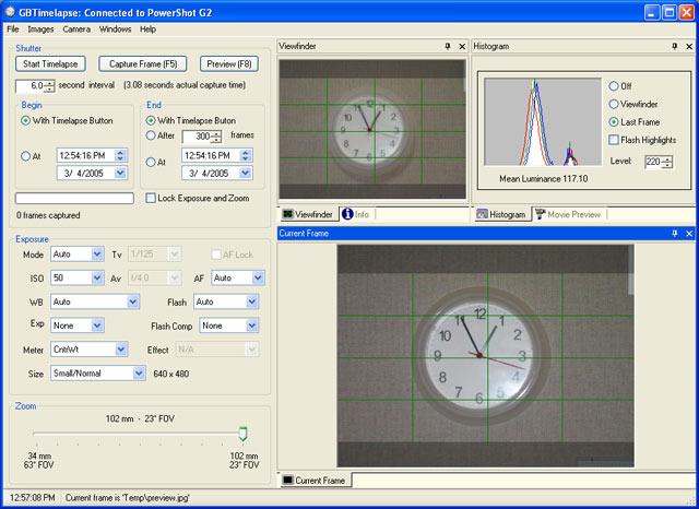GBTimelapse 3.14.3.0 main scrennshot