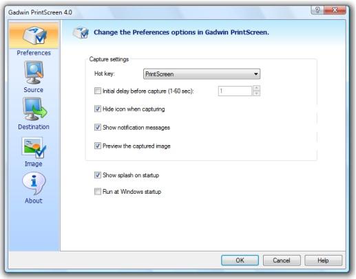 Gadwin PrintScreen screenshots - Windows 7 download