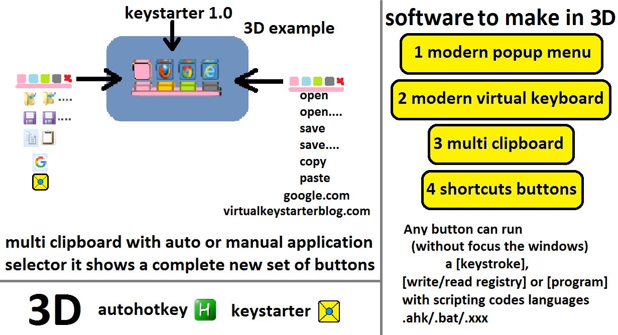 Keystarter 1.0.10.2017 main scrennshot