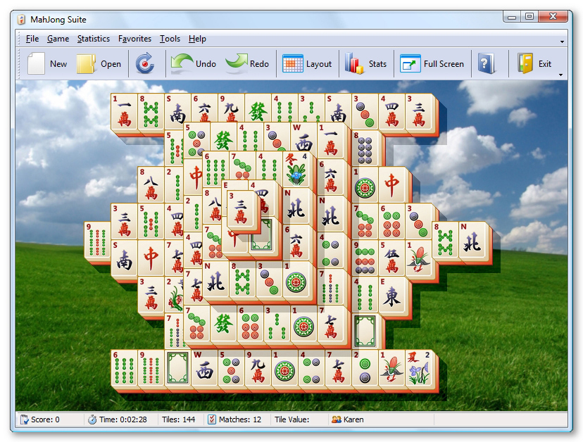 MahJong Suite 8.3 main scrennshot
