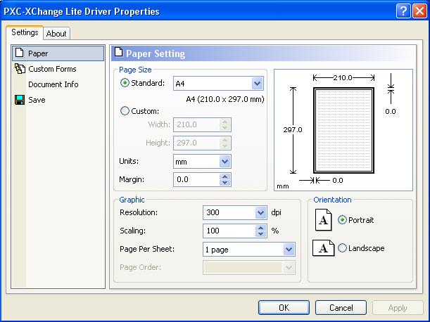 PDF-XChange Lite 5.0.267 main scrennshot