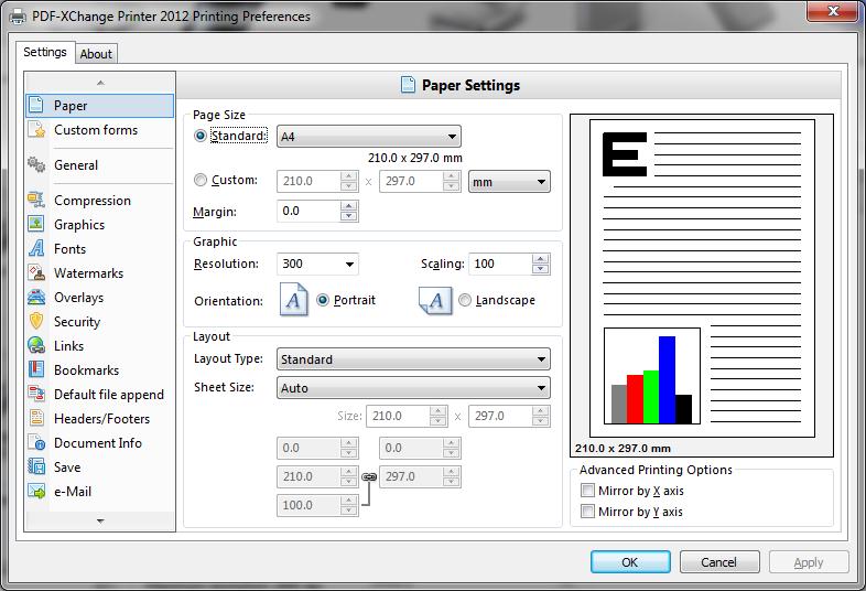 PDF-XChange Standard 6.0.322.2 main scrennshot