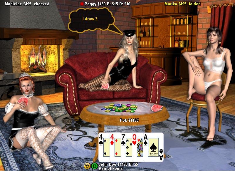Free strip poker com