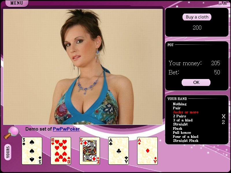 Video strip poker supreme opponents pack free download.