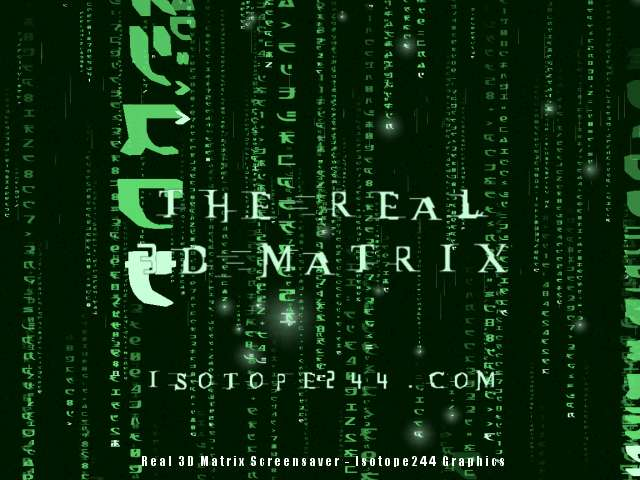 Real 3D Matrix 3.02 main scrennshot