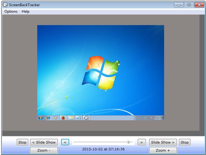 ScreenBackTracker 1.0.2.00 main scrennshot