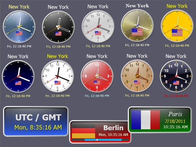world clock for desktop free download for windows 7