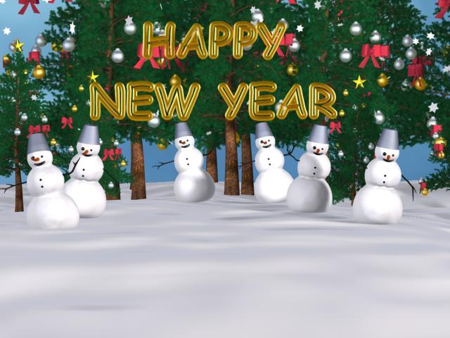 happy new year screensaver 1 0