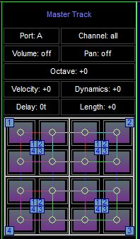 Space Toad MIDI Sequencer 2.1.1 main scrennshot