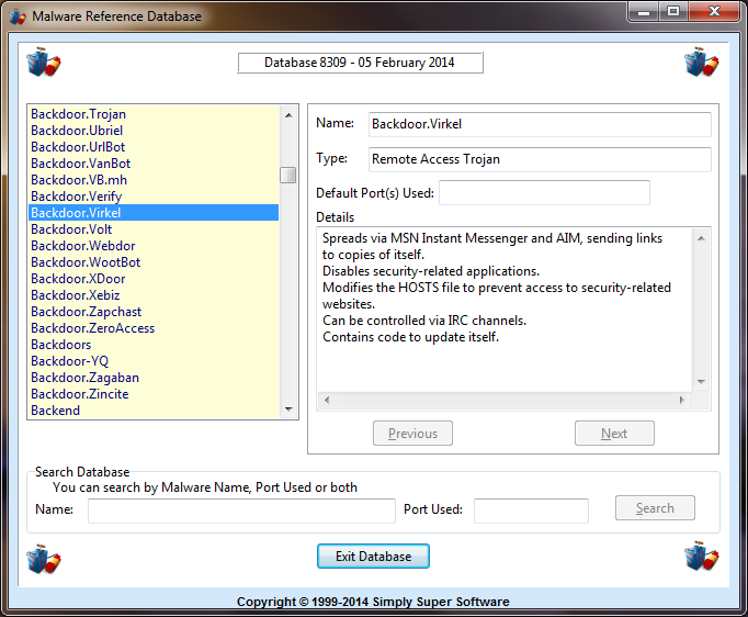 Trojan Remover 6.9.5.2951 main scrennshot