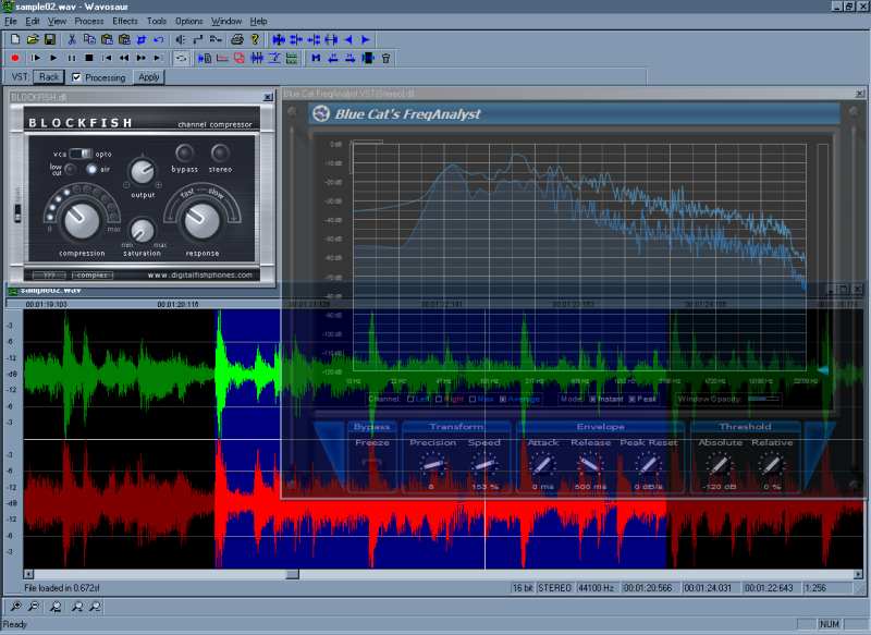 Audacity: free digital audio editor and recorder for windows.