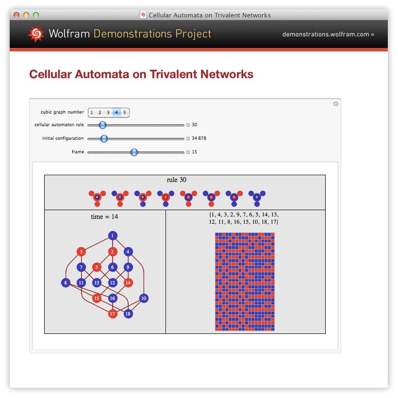 Wolfram CDF Player screenshots...