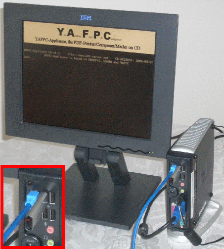 YAFPC-Appliance 7.00 main scrennshot