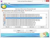 1-abc.net Hard Drive Washer 7.00 screenshot. Click to enlarge!
