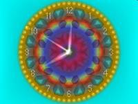 2D Gold Clock Screensaver 3.2 screenshot. Click to enlarge!
