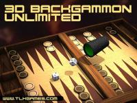 3D Backgammon Unlimited 1.0 screenshot. Click to enlarge!