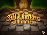 3D Checkers Unlimited 1.0 screenshot. Click to enlarge!