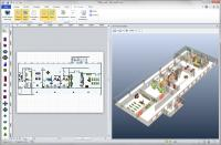 3D Visioner - 3D Visualization for Visio 1.30.14.2579 screenshot. Click to enlarge!
