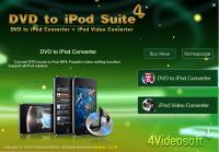 4Videosoft DVD to iPod Suite 4.0.08 screenshot. Click to enlarge!