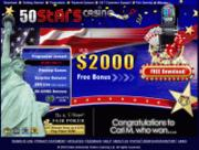 50 Stars Casino by Online Casino Extra 2.0 screenshot. Click to enlarge!