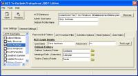 ACT-To-Outlook Professional - 2007 9.1 screenshot. Click to enlarge!