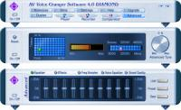 AV Voice Changer Software Diamond Edition 4.0.63 screenshot. Click to enlarge!