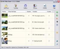 AVI Slide Show 1.7.17.17 screenshot. Click to enlarge!