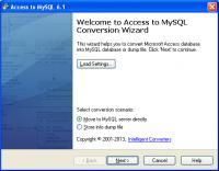 Access-to-MySQL 6.1 screenshot. Click to enlarge!