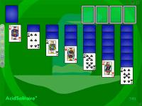 AcidSolitaire for Windows 1.5.1 screenshot. Click to enlarge!