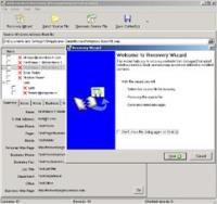 Address Book Recovery 1.2.25 screenshot. Click to enlarge!