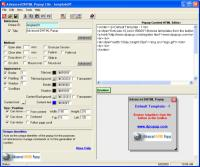 Advanced DHTML Popup Lite 2.50 screenshot. Click to enlarge!
