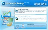 Advanced Defrag 5.0 screenshot. Click to enlarge!