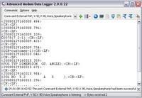Advanced Modem Data Logger 3.1.5.213 screenshot. Click to enlarge!