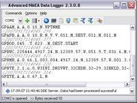 Advanced NMEA Data Logger 3.1.12.319 screenshot. Click to enlarge!