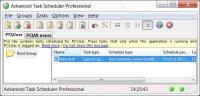 Advanced Task Scheduler Professional 4.5.616 screenshot. Click to enlarge!