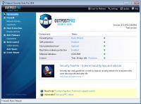 Agnitum Outpost Security Suite Pro 2009 6.5.5 screenshot. Click to enlarge!