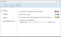 AirMyPC 2.0.1 screenshot. Click to enlarge!