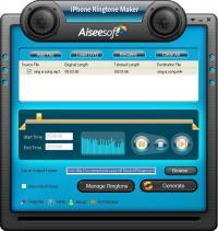 Aiseesoft iPhone Ringtone Maker 7.0.76 screenshot. Click to enlarge!