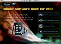 Aiseesoft iPhone Software Pack for Mac 3.3.30 screenshot. Click to enlarge!