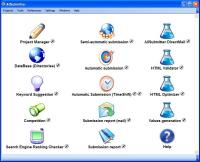 AllSubmitter 7.4 screenshot. Click to enlarge!