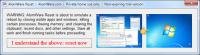 AlomWare Reset 3.09.1 screenshot. Click to enlarge!