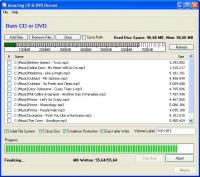 Amazing CD & DVD Burner 2.2.5 screenshot. Click to enlarge!