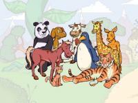 Animal Kids Screensaver 1.0 screenshot. Click to enlarge!